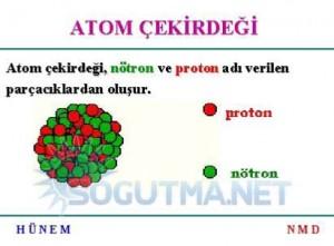 nükleer atom çekirdeği