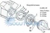 Araç Soğutma Kompresörü ve Kavrama Montajı