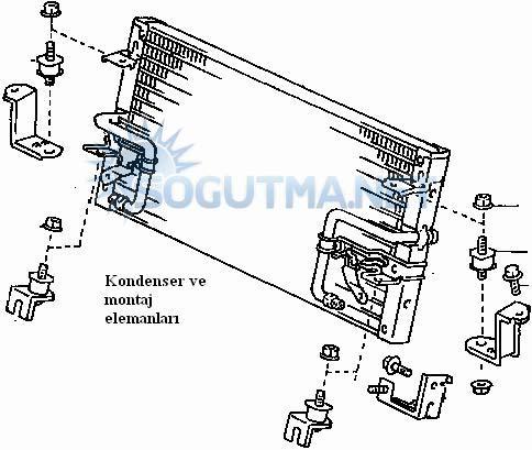 araç kondenser montajı