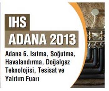 Photo of İHS Adana 2014 Isıtma Soğutma Fuarı