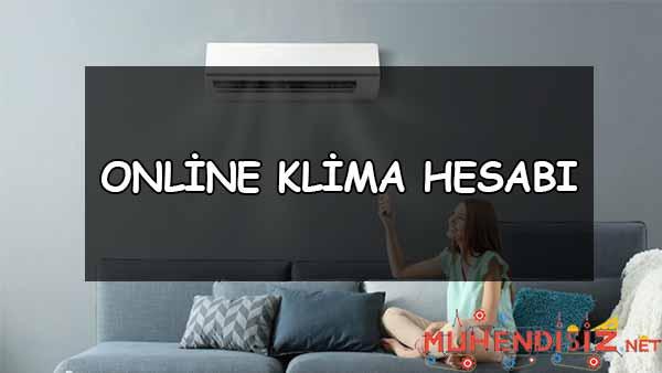 Online Klima Hesabı