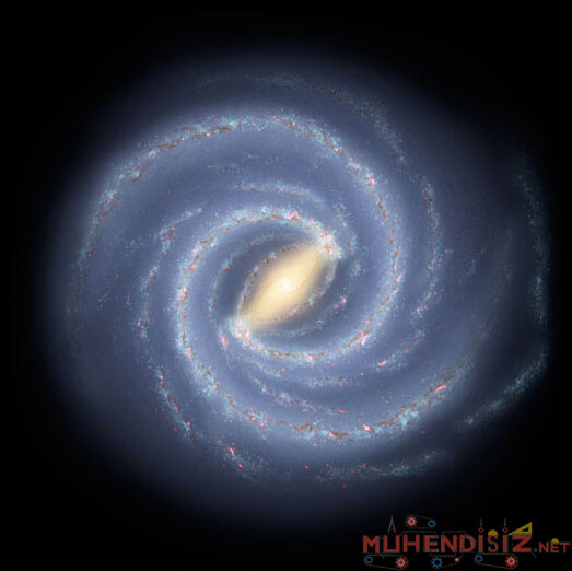 Samanyolu Galaksisinin Merkezindeki Sagittarius A isimli Kara Delik