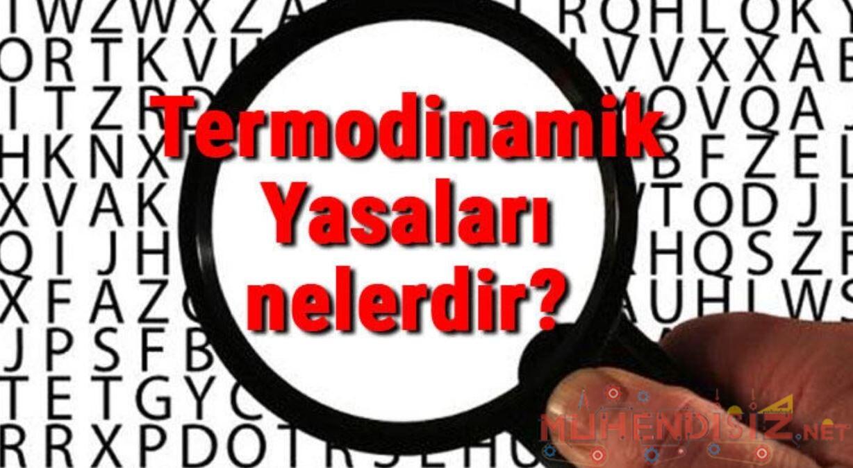 Termodinamik Yasaları