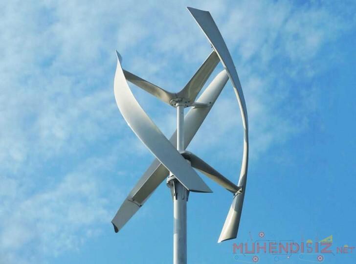 Dikey Rüzgar Türbini